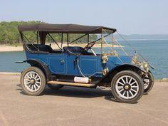 1912 Chalmers 36, model.