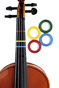 4 Jumbo Color Violin Fingering Tape for Fretboard Note Positions >>> You can get more details by clicking on the image.Note:It is affiliate link to Amazon.