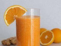 Adelgazar naturalmente con jugo de naranja y jengibre