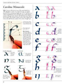 [шрифт] Каролингский Минускул (Caroline Minuscule) – 11 фотографий