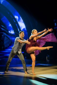 Pasha Kovalev, Ashley Roberts - (C) BBC - Photographer: Guy Levy Pasha Kovalev, Strictly Come Dancing 2017, Ashley Roberts, Dance Art, Ice Dance, Partner Dance, Latin Dance Dresses, Ballroom Dancing, Hallmark Movies