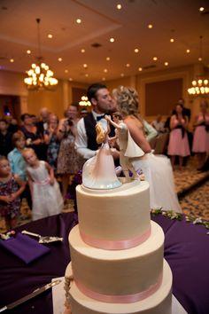 Sleeping Beauty cake topper/ fairytale wedding