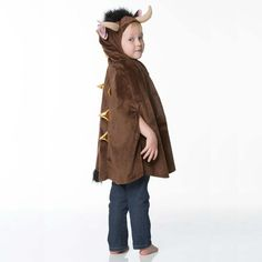 The Gruffalo - Julia Donaldson  Children's Brown Monster Dress Up – Time to Dress Up