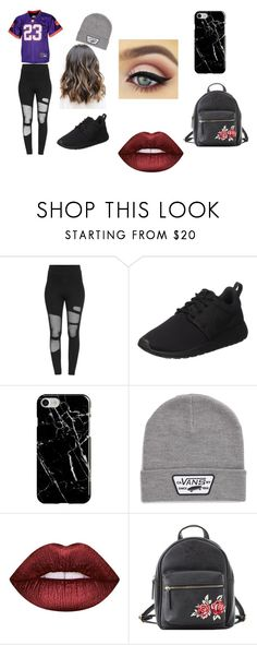 """Parker Casual"" by katminter ❤ liked on Polyvore featuring NIKE, Recover, Vans, Lime Crime and Charlotte Russe"