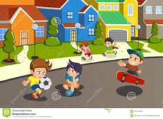 neighborhood illustrations - Pesquisa Google