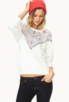 Out West Sweatshirt | FOREVER21 - 2000088162