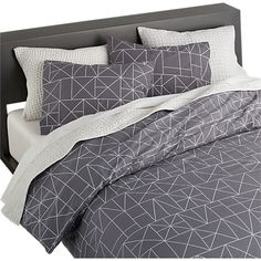 LOVE THIS: B R Z bed linens in bed linens | CB2