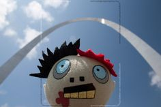 The day my zombie took over St. Louis