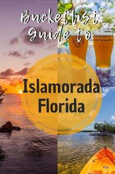 Space Guide Bucket list guide to Islamorada Visit Florida, Florida Vacation, Florida Keys, Fl Keys, Key Largo Florida, Florida Travel Guide, Islamorada Florida, Vacation Destinations, Top Vacations