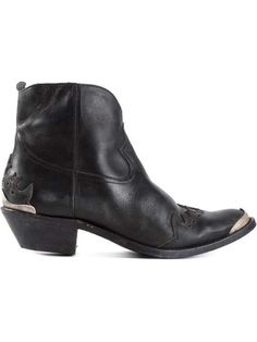 GOLDEN GOOSE DELUXE BRAND | distressed cowboy boots #goldengoose #cowboy #boots