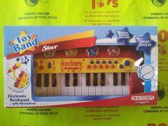 Bontempi Electronic Keyboard with Microphone - Tastiera elettronica con microfono incluso