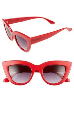 PERVERSE 'Acid' 50mm Cat Eye Sunglasses available at #Nordstrom
