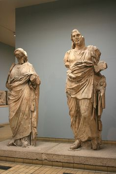 Das Mausoleum von Halikarnassos in Bodrum in der Türkei British Museum, London, Greek, Antiques, England, Art, Statues, Sculptures, Marble