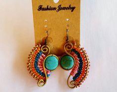 Macrame Earrings by WearietyBySom on Etsy