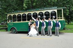 Take a tour of beautiful Starved Rock on Ranger or Bella! There's no better way to ride! Ranger seats up to 26 guests in its cozy, charming interior. Bella is our Wedding Trolley & Special Event Trolley, with seats for up to 22 guests. Plus it features a floral package and on the back of the trolley, there's a Conductor's Platform (great for photos). We offer seasonal tours (to see waterfalls, eagles and fall colors) Read More