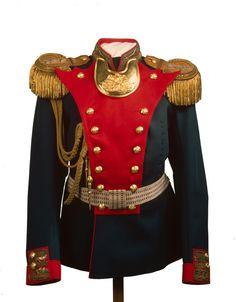 Tsar Nicholas II's Officers Uniform of the Life Guards Grenadier Regiment, circa… Tsar Nicolas Ii, Tsar Nicholas, Ringmaster Costume, Napoleon, Uniform Dress, Imperial Russia, Russian Fashion, Historical Clothing, Character Design