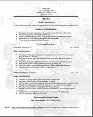 Quality Assurance Resume Sample  Projekty Do Wyprbowania