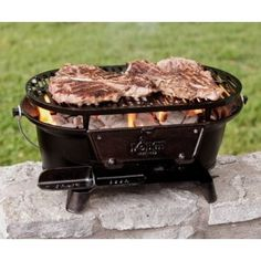 Dilwe Barbecue Grill Folding Stainless Steel Camping Camp Fire Grill with Storage Bag for Hiking Travel Picnic BBQ