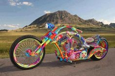 Lets ride for Peace with this Funky Hippy lowrider