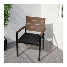 IKEA   FALSTER, Armchair, Outdoor, Gray, , , Can Be Stacked, Which Helps  You Save Space.You Can Make Your Chair More Comfortable And Personal By  Adding A ...