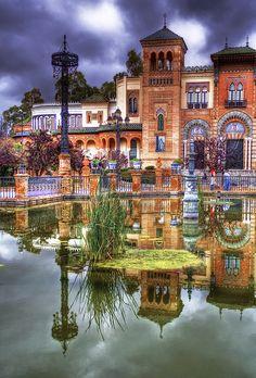 Plaza de America. Sevilla   Spain