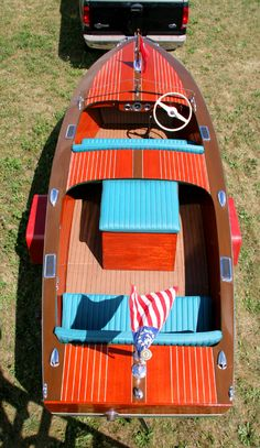 Antique Boats - 1946 Chris Craft 16' Special Runabout
