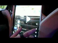 Tesla Model S Interface Hands On