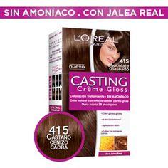 Casting Crème Gloss Castaño Chocolate, L'oréal Paris, Loreal, Natural, It Cast, Bottle, Hair Ideas, Diy, Red Hair Color