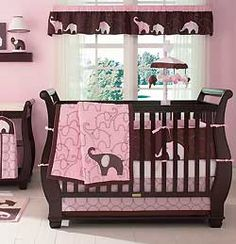 I wish there had been stuff like this when my girls were babies! I love how babies' rooms are designed these days!