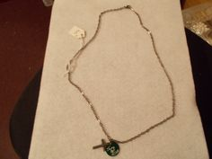 Cling To Jesus Cross Charm Necklace $5 at AmysHandmadeJewelry.com