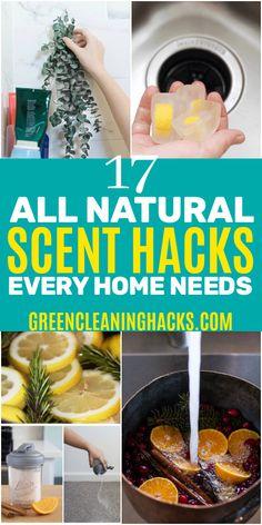 17 Brilliant All-Natural Home Scent Hacks - Green Cleaning Hacks Diy Hanging Shelves, Diy Wall Shelves, Mason Jar Crafts, Mason Jar Diy, Diy Home Decor Projects, Diy Projects To Try, Craft Projects, Diy Cleaning Products, Cleaning Hacks