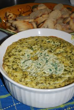 Unprocessed Creamy Artichoke Spinach Dip | Kid Tested Firefighter Approved