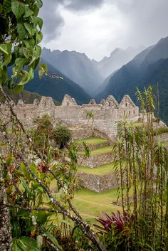 Les ruines du Machu Picchu Perú