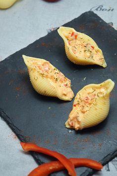 Pâtes Conchiglioni farcies au saumon : la recette facile
