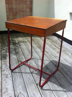 Retro Vintage Triang school desk c1970
