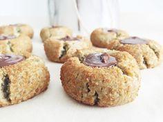 Gluten Free + Paleo Peanut Blossom Cookies