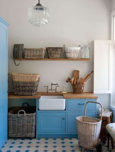 Some thoughts on decorating and styling your laundry room