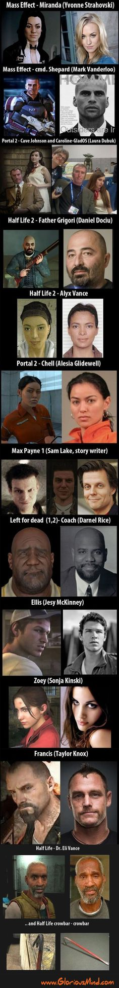 Game characters - in real life. Awkward?
