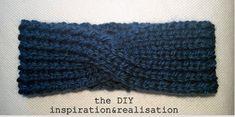 Free Knitting Pattern: Twisted Cable Headband