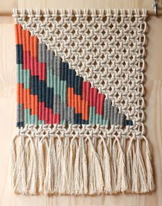 Woven Wall Hanging by KateAndFeather on Etsy