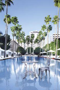 Delano Hotel, Miami Beach designed by Philippe Starck