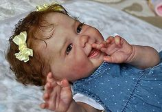 Alla's Babies Reborn Doll Baby Girl Maizie, Andrea Arcello,IIORA