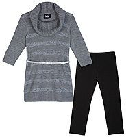 by&by girl Girls 2 pc Legging Set-Big Kid 7-20 - by&by girl Girls 2 pc Legging Set-Big Kid 7-20