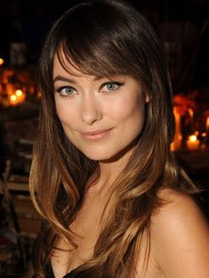Eye skimming bangs :: Olivia Wilde style