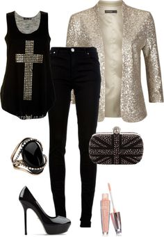 """""""black"""" by cmaes03 ❤ liked on Polyvore"""