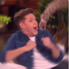 Niall at the Ellen Show