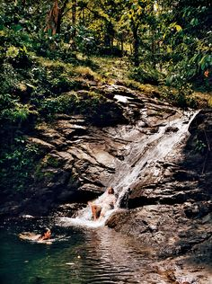 A Photographic Journey Through Costa Rica's Rainforest | Natural pools in Los Campesinos
