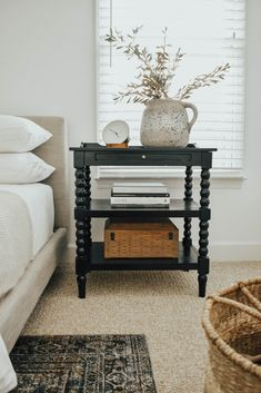 How to Paint Wooden Furniture (No Sanding Required) - House On Longwood Lane - Bedroom Decor, Wooden Furniture, Bedroom Makeover, Home Decor, Bedroom Furniture, Painting Wooden Furniture, Bedroom Decor, Interior Design, Boho Bedroom Decor