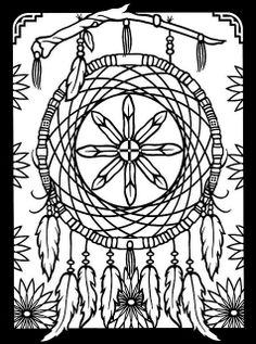Dover Stained Glass Coloring Pages | Recent Photos The Commons Getty Collection Galleries World Map App ... Native American Art, Coloring Books, Coloring Pages For Kids, Coloring Sheets, Colouring, Stained Glass, Hippie Art, Dream Catchers, Urban Threads