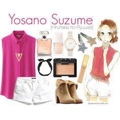 Yosano Suzume [Hirunaka no Ryuusei] Outfits Niños, Fandom Outfits, Cosplay Outfits, Anime Outfits, Cool Outfits, Casual Outfits, Fashion Outfits, Disney Outfits, Anime Inspired Outfits